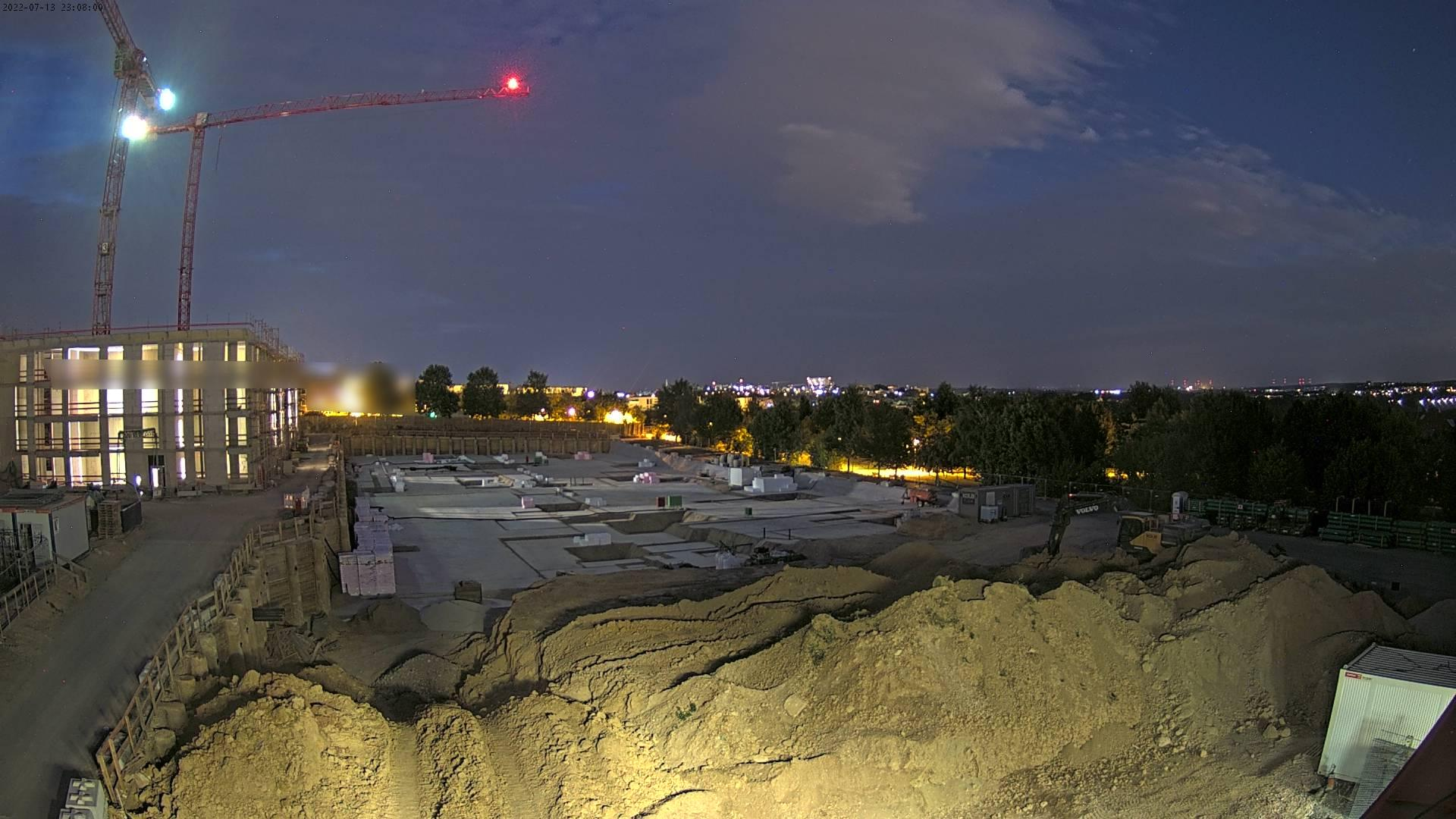 Webcam - Bauprojekt Frankfurt Berghöfe